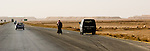 """Desert Highway -- Jordan's """"Desert Highway"""" extends from Amman to the country's only port, at Aqaba.  © Rick Collier"""