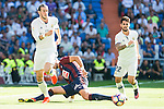 "Real Madrid's players Gareth Bale and Francisco Roman ""Isco"" during a match of La Liga Santander at Santiago Bernabeu Stadium in Madrid. October 02, Spain. 2016. (ALTERPHOTOS/BorjaB.Hojas)"