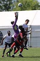 Kent FA Sunday Junior Trophy Final. Royal Southwark (red & black) V 16A (white)