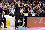 Unics Kazan's coach Evgeny Pashutin during match of Turkish Airlines Euroleague at Barclaycard Center in Madrid. November 24, Spain. 2016. (ALTERPHOTOS/BorjaB.Hojas)