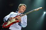 Andy Summers of The Police perform during their reunion tour at the Toyota Center Friday June 29,2007.(Dave Rossman/For the Chronicle)