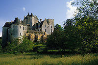 Europe/France/Aquitaine/24/Dordogne/Vallée de la Dordogne/Périgord/Périgord Noir: Le Château de Fayrac (XVème)