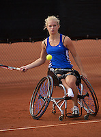 10-08-13, Netherlands, Rotterdam,  TV Victoria, Tennis, NJK 2013, National Junior Tennis Championships 2013,  Dide de Groot<br /> <br /> Photo: Henk Koster