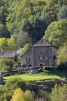 Europe, France, Aquitaine, Pyrénées-Atlantiques, Béarn, Vallée d'Aspe, Borce, Maison  forte // Europe, France, Aquitaine, Pyrenees Atlantiques, Bearn, Aspe valley, Borce ,  Fortified house