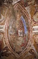 Europe/France/Languedoc-Roussillon/66/Pyrénées-Orientales/Saint-Martin-de-Fenollar: Christ en majesté dans la chapelle