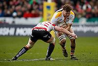 Photo: Richard Lane/Richard Lane Photography. Gloucester Rugby v Wasps. Aviva Premiership. 05/03/2016. Wasps' James Cannon attacks.
