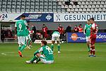17.10.2020, Schwarzwald Stadion, Freiburg, GER, 1.FBL, SC Freiburg vs SV Werder Bremen<br /> <br /> im Bild / picture shows<br /> Ein entäuschter Josh Sargent (Bremen), Davie Selke (Bremen), Maximilian Eggestein (Bremen)<br /> <br /> Foto © nordphoto / Bratic<br /> <br /> DFL REGULATIONS PROHIBIT ANY USE OF PHOTOGRAPHS AS IMAGE SEQUENCES AND/OR QUASI-VIDEO.
