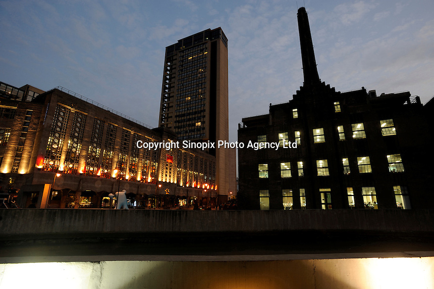 Called 1933 Shanghai, the former power plant, abattoir and factory is turned into a new creative commercial spaces in Hongkou District of Shanghai..