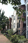 """South East Washington DC townhouses, SE Washington DC, Fine art Photography and Stock Photography by Ronald T. Bennett Photography ©, FINE ART and STOCK PHOTOGRAPHY FOR SALE, CLICK ON  """"ADD TO CART"""" FOR PRICING, Fine Art Photography by Ron Bennett, Fine Art, Fine Art photo, Art Photography,"""
