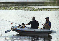 Lesley Crawford, traditional loch style fishing.