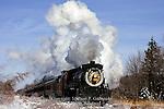 Steamtown Train on Pocono Run