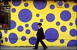 Purple Dots, Melrose Ave., 1983
