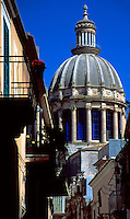 Basilica San Giorgio Ragusa, Sicily, Italy.