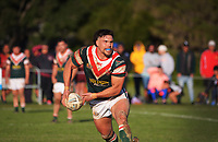 Action from the 2021 Wellington premier rugby league final between St George Dragons and Whiti Te Ra ki Otaki Sports Club at Petone Recreation Ground in Petone, New Zealand on Saturday, 31 July 2021. Photo: Dave Lintott / lintottphoto.co.nz