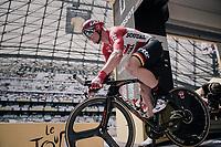 André Greipel (DEU/Lotto-Soudal) launching himself into his race against the clock<br /> <br /> 104th Tour de France 2017<br /> Stage 20 (ITT) - Marseille › Marseille (23km)
