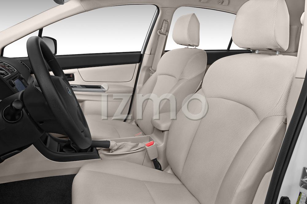 Front seat view of a 2015 Subaru Base Impreza 5 Door Hatchback front seat car photos
