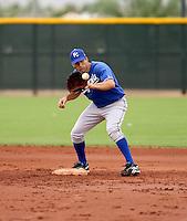 Jeff Bianchi / Kansas City Royals 2008 Instructional League..Photo by:  Bill Mitchell/Four Seam Images