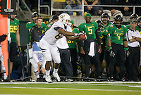 October 6th, 2011: Anthony Miller of  California catches the ball during a game against Oregon Ducks at Autzen Stadium in Eugene, Oregon - Oregon defeated Cal 43 - 15