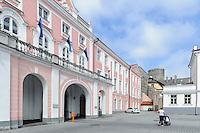 Parlament in Tallinn (Reval), Estland, Europa, Unesco-Weltkulturerbe