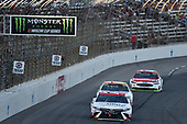 Monster Energy NASCAR Cup Series<br /> AAA Texas 500<br /> Texas Motor Speedway<br /> Fort Worth, TX USA<br /> Sunday 5 November 2017<br /> Erik Jones, Furniture Row Racing, Sport Clips Toyota Camry, Chase Elliott, Hendrick Motorsports, Hooters Chevrolet SS, Ryan Blaney, Wood Brothers Racing, Motorcraft/Quick Lane Tire & Auto Center Ford Fusion<br /> World Copyright: John K Harrelson<br /> LAT Images