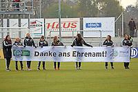 Aktion Danke ans Ehrenamt - 1. FFC Frankfurt vs. FC Bayern Muenchen, Stadion am Brentanobad