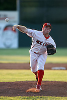 June 21st, 2007:  Jess Todd of the Batavia Muckdogs, Short-Season Class-A affiliate of the St. Louis Cardinals at Dwyer Stadium in Batavia, NY.  Photo by:  Mike Janes/Four Seam Images