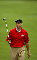PGA golfer Jim Furyk walks up a fairway during the 2008 Wachovia Championships at Quail Hollow Country Club in Charlotte, NC.