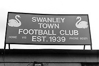 General view of Swanley Town FC, Swanley Recreation Ground, Swanley, Kent, pictured on 30th September 1986
