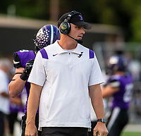 Cassie Dick, head football coach of Fayetteville at Harmon Field , AR, on Friday,September 10, 2021 / Special to NWADG David Beach