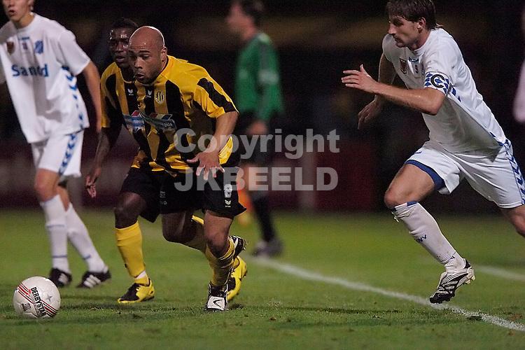 veendam - agovv jupiler league seizoen 2007-2008 21-09-2007  cijntje verdedigt uit