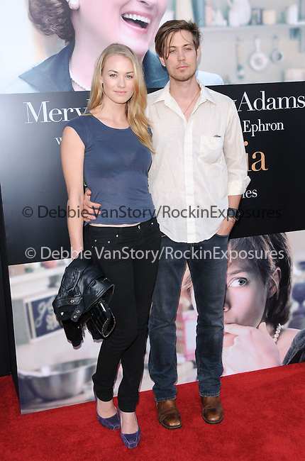 Yvonne Strahovski at The Columbia Pictures' Screening of  Julie & Julia held at The Mann's Village Theatre in Westwood, California on July 27,2009                                                                   Copyright 2009 Debbie VanStory / RockinExposures
