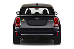 Straight rear view of 2020 MINI Countryman Cooper-SE-JCW 5 Door SUV Rear View  stock images