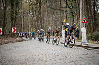 cobbled section<br /> <br /> 61st Brabantse Pijl 2021 (1.Pro)<br /> 1 day race from Leuven to Overijse (BEL/202km)<br /> <br /> ©kramon