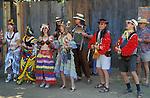 Musicians at Oregon Country Fair; Veneta, Oregon.