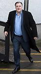 © Joel Goodman - 07973 332324 . 05/03/2017 . London , UK . ED BALLS leaves ITV studios on South Bank after appearing on the Peston on Sunday show . Photo credit : Joel Goodman