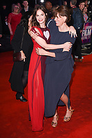 """Ruth Wilson and director, Clio Barnard<br /> arriving for the London Film Festival 2017 screening of """"Dark River"""" at the Odeon Leicester Square, London<br /> <br /> <br /> ©Ash Knotek  D3323  07/10/2017"""