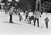 ARCHIVE -<br /> <br /> Ski au Quebec  dans les annees 70<br />  , date inconnue<br /> <br /> Photo : Agence Quebec Presse  - Alain Renaud