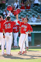 Danny Muno, Fresno State Bulldogs, playing against Hawaii in the championship game of the Western Athletic Conference tournament at Hohokam Park, Mesa, AZ - 05/30/2010. Hawaii won, 9-6, to capture its first league championship in 18 years..Photo by:  Bill Mitchell/Four Seam Images.