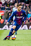 Denis Suarez of FC Barcelona in action during the La Liga 2017-18 match between FC Barcelona and RC Celta de Vigo at Camp Nou Stadium on 02 December 2017 in Barcelona, Spain. Photo by Vicens Gimenez / Power Sport Images