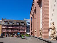 Haus Wertheym und Junges Museum, Frankfurt, Hessen, Deutschland, Europa<br /> Haus Wertheym and Junges Museum, Frankfurt, Hesse, Germany, Europe