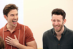 "Nick Adams and Nick Blaemire during the rehearsal performance of  ""Falsettos""  at the New Ripley Grier on January 25, 2019 in New York City."