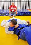 Tony Walby, Tim Rees, and Tom Thomson, London 2012 - Para Judo // Parajudo.<br /> Highlights from a Para Judo training session // Faits saillants d'une séance d'entraînement en Para judo. 08/26/2012.