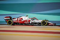 99 GIOVINAZZI Antonio (ita), Alfa Romeo Racing ORLEN C41, action during Formula 1 Gulf Air Bahrain Grand Prix 2021 from March 26 to 28, 2021 on the Bahrain International Circuit, in Sakhir, Bahrain <br /> 26/03/2021 <br /> Formula 1 Gp Bahrein <br /> Photo DPPI/Panoramic/Insidefoto <br /> Italy Only <br /> 26/03/2021 <br /> Formula 1 Gp Bahrein <br /> Photo DPPI/Panoramic/Insidefoto <br /> Italy Only