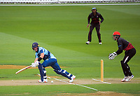 Action from the 2020-21 Ewen Chatfield Trophy Wellington men's one-day cricket final between Taita and Johnsonville at the Basin Reserve in Wellington, New Zealand on Sunday, 10 January 2021. Photo: Dave Lintott / lintottphoto.co.nz