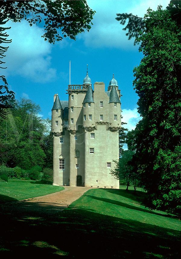 Craigievar Castle. Aberdeenshire Scotland Grampian region.