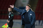 St Johnstone v Aberdeen…13.12.17…  McDiarmid Park…  SPFL<br />Saints manager Tommy Wright<br />Picture by Graeme Hart. <br />Copyright Perthshire Picture Agency<br />Tel: 01738 623350  Mobile: 07990 594431