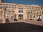 The historic city of Montpellier Languedoc-Roussillon region of France. .Lafayette Shopping