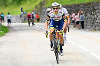 10th July 2021; Carcassonne, France; MEINTJES Louis (RSA) of INTERMARCHE - WANTY - GOBERT MATERIAUX during stage 14 of the 108th edition of the 2021 Tour de France cycling race, a stage of 183,7 kms between Carcassonne and Quillan