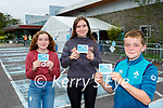 Ger McElligott Kenmare his sister Kate McElliott and cousin Muireann Rochford who received their vaccine in Killarney on Tuesday
