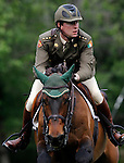 Ireland's jockey David O'Brien with the horse Annestown during 102 International Show Jumping Horse Riding, Gran Prix of Madrid-Volvo Throphy.May, 19, 2012. (ALTERPHOTOS/Acero)